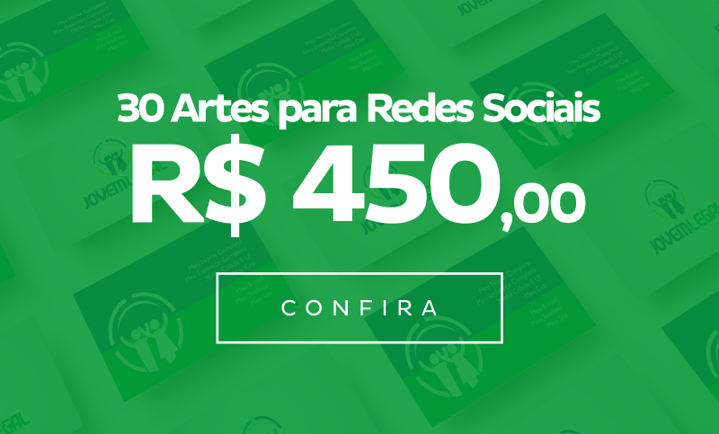 30 Artes para Redes Sociais
